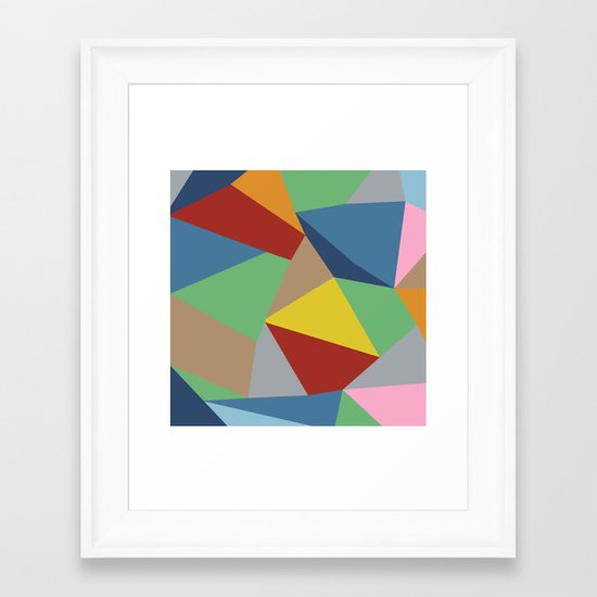 Abstraction Framed Art Print