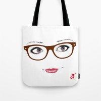 Hipster Eyes 1 Tote Bag