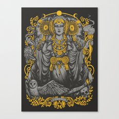 IBERIAN HECATE gray Canvas Print