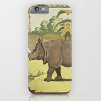 iPhone & iPod Case featuring Rhino^2 by Jerome