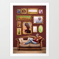 Aesthetic Art Print