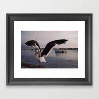 Rat Of The Ocean Framed Art Print