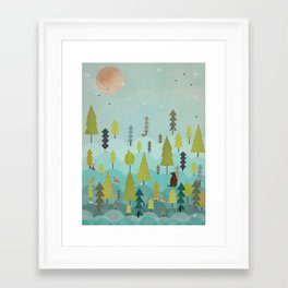 Framed Art Print - goodnight little sunshine - bri.buckley