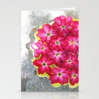 The floweress Stationery Cards