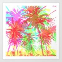 California - this is summer Art Print
