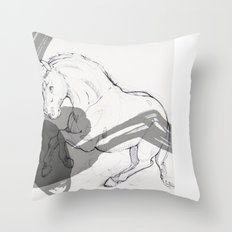 Temper Throw Pillow