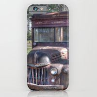 Old Railway Express Agency Truck iPhone 6 Slim Case