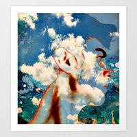 The Abstracted Man Art Print
