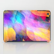 Colourful Abstract With … iPad Case