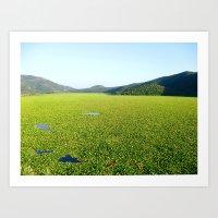 Il Mare Verde Art Print
