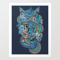 New Space Found Art Print