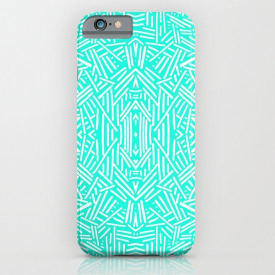 Radiate (Mint) iPhone & iPod Case