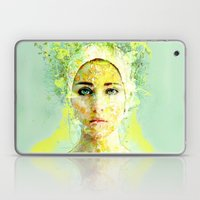 Floral Woman Laptop & iPad Skin