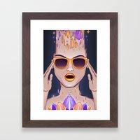 Free spirit Framed Art Print