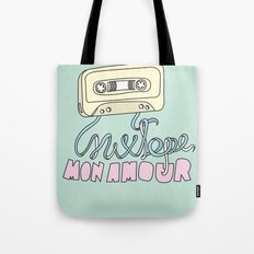 Mixtape mon amour Tote Bag