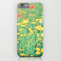 iPhone & iPod Case featuring Colourful Meadow by Cassia Beck