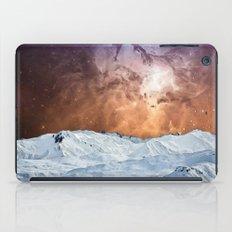 Cosmic Winter Landscape iPad Case