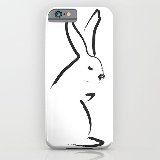 Zen Snow Bunny iPhone & iPod Case