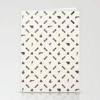 Life Then Love Then Deat… Stationery Cards