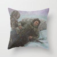 My Herd Throw Pillow