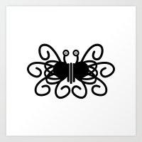 Pastafarian Flying Spagh… Art Print