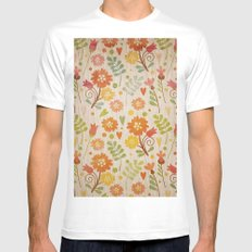 Sunny Cases XIV White Mens Fitted Tee SMALL