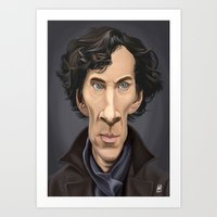Celebrity Sunday ~ Benedict Cumberbatch Art Print