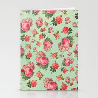 Stationery Cards featuring FLORAL PATTERN by Allyson Johnson