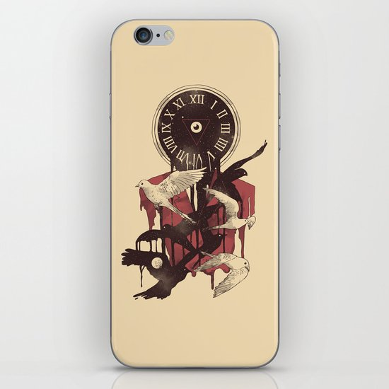 Existence in Time and Space iPhone & iPod Skin