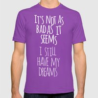 Tommy Mens Fitted Tee Ultraviolet SMALL