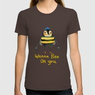 T-shirt featuring Wana Bee On You! by Ashley Percival Illu…