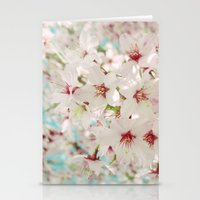 Cherry Blossom afternoon Stationery Cards