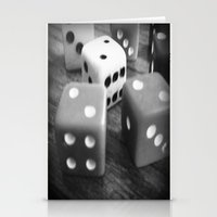 It's a game of chance... Stationery Cards