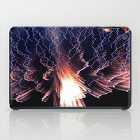 Cloud of fire iPad Case