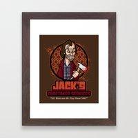 Jack's Caretaker Services Framed Art Print