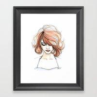 Nora Framed Art Print