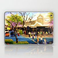 Sidewalk Cafe Laptop & iPad Skin