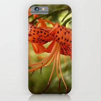 Wild Tiger Lily iPhone 6 Slim Case