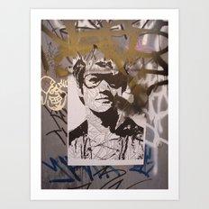 Art On The Run: Unknown Artist, NYC Art Print