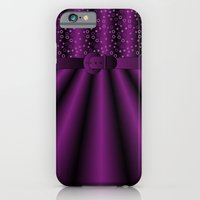 iPhone & iPod Case featuring Purple Satin Gown by ts55