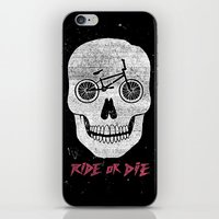 Ride Or Die iPhone & iPod Skin