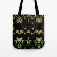 Tree Geometry Tote Bag