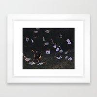 Your A Blaze Framed Art Print