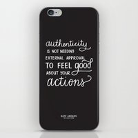 Authenticity // The Lively Show iPhone & iPod Skin