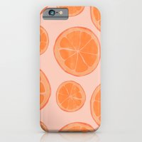 iPhone & iPod Case featuring Oranges by Allyson Johnson
