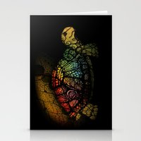 Turtle Glow Stationery Cards