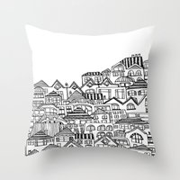 Sacrifical Homes A Throw Pillow