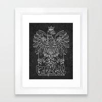 GRZNYC: Coat of Arms Framed Art Print
