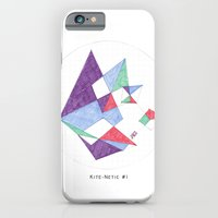 iPhone & iPod Case featuring Kite-netic #1 by Jaustar
