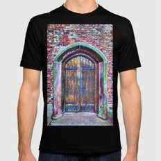 What's Inside? Black Mens Fitted Tee SMALL